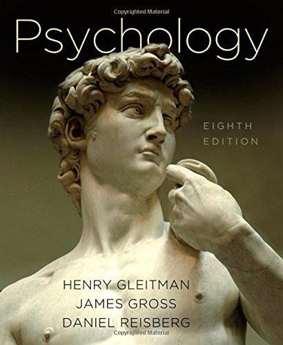 Psychology: Gleitman, Henry, 4th; Gross, James; Reisberg, Daniel