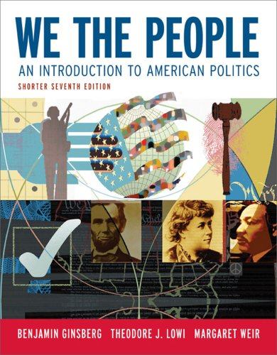 9780393932676: We the People: An Introduction to American Politics