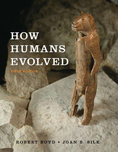 9780393932713: How Humans Evolved