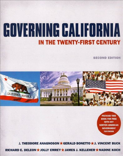 Governing California in the Twenty-First Century: (Second: J. Theodore Anagnoson,