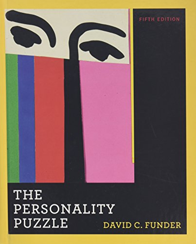 9780393933482: The Personality Puzzle (Fifth Edition)