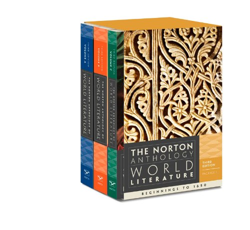 9780393933659: The Norton Anthology of World Literature (Third Edition)  (Vol. Package 1: Vols. A, B, C)