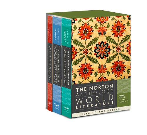 9780393933666: The Norton Anthology of World Literature (Third Edition) (Vol. Package 2: Volumes D, E, F)