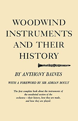 9780393933680: Woodwind Instruments and Their History