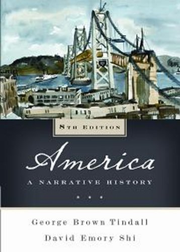 9780393934052: America: A Narrative History (Eighth Edition) (Vol. One-Volume)
