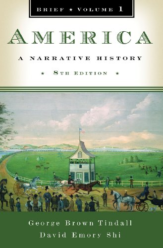 9780393934090: America: A Narrative History (Brief Eighth Edition) (Vol. 1)