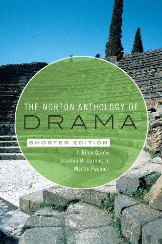 9780393934120: The Norton Anthology of Drama (Shorter Edition)