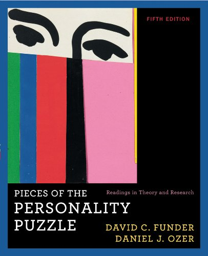 Pieces of the Personality Puzzle Readings in: Funder, David C.