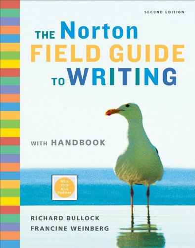 9780393934397: The Norton Field Guide to Writing with Handbook (Second Edition with 2009 MLA Updates)