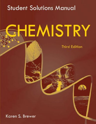 9780393934540: Student Solutions Manual: for Chemistry: The Science in Context, Third Edition