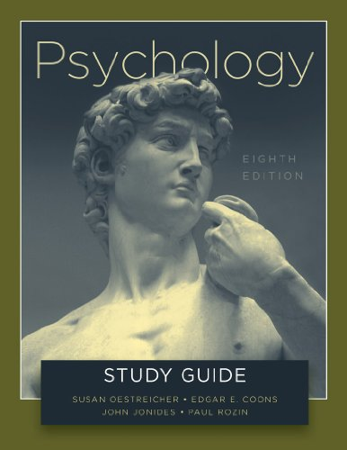 9780393934588: Study Guide: for Psychology, Eighth Edition