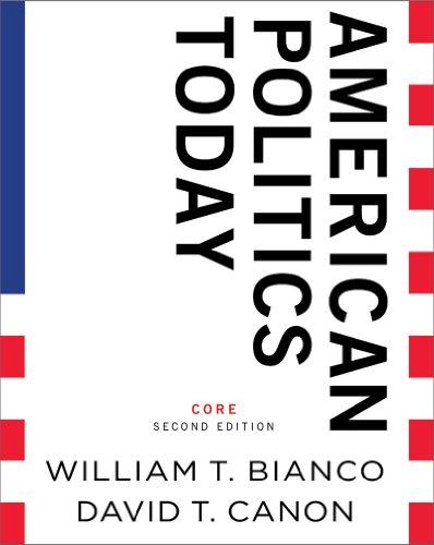 9780393934724: American Politics Today (Core Second Edition)