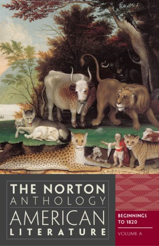 9780393934762: The Norton Anthology of American Literature (Eighth Edition) (Vol. A)