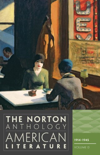 9780393934793: The Norton Anthology of American Literature (Eighth Edition)  (Vol. D)