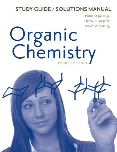 9780393935004: Study Guide/Solutions Manual: for Organic Chemistry, Fourth Edition