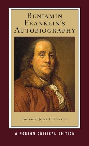 9780393935615: Benjamin Franklin's Autobiography