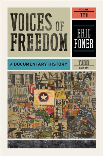 9780393935684: Voices of Freedom: A Documentary History (Third Edition) (Vol. 2)