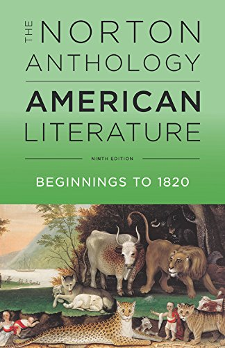 9780393935714: The Norton Anthology of American Literature