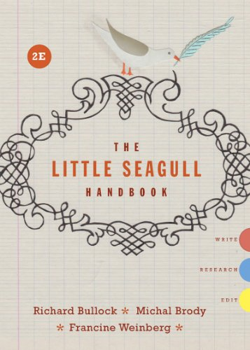 Little Seagull Handbook: Bullock, Richard