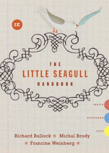 9780393935806: The Little Seagull Handbook, 2nd Edition