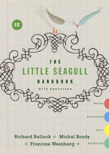 The Little Seagull Handbook with Exercises (Second