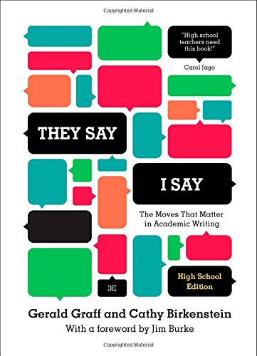 9780393935851: They Say/I Say: The Moves That Matter in Academic Writing