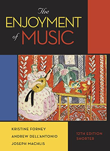 9780393936384: The Enjoyment of Music: Shorter Version