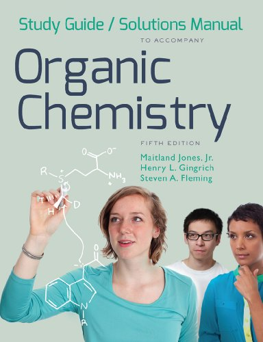 9780393936599: Study Guide and Solutions Manual: for Organic Chemistry, Fifth Edition