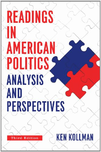 9780393936742: Readings in American Politics: Analysis and Perspectives, 3rd Edition