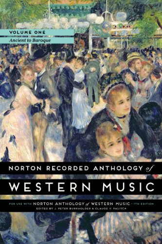 9780393936872: Norton Recorded Anthology of Western Music (Seventh Edition) (Vol. 1: Ancient to Baroque)