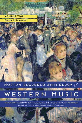 9780393936889: Norton Recorded Anthology of Western Music (Seventh Edition) (Vol. 2: Classic to Romantic)
