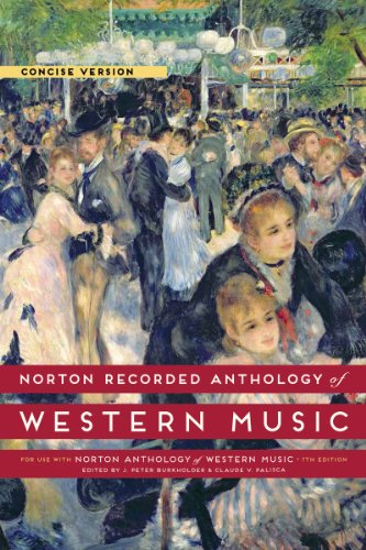 9780393936940: Norton Recorded Anthology of Western Music (Seventh Edition) (Vol. Concise Volume)