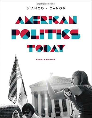 9780393937008: American Politics Today (Full Fourth Edition)