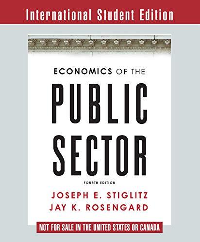 9780393937091: Economics of the Public Sector