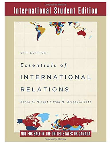 9780393937107: Essentials of International Relations