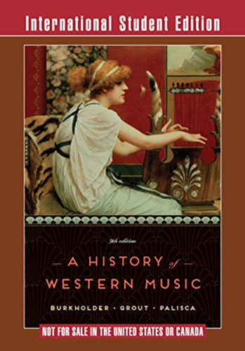 9780393937114: A History of Western Music