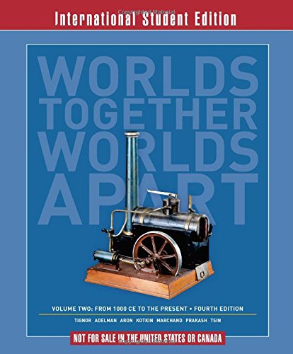 Worlds Together, Worlds Apart: v. 2: A: Jeremy; Aron, Stephen;