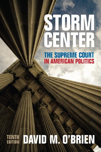 9780393937244: Storm Center: The Supreme Court in American Politics (Tenth Edition)