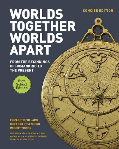 9780393937695: Worlds Together, Worlds Apart: A History of the World: From the Beginnings of Humankind to the Present (Concise High School Edition)