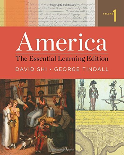9780393938029: America: The Essential Learning Edition (Vol. 1)