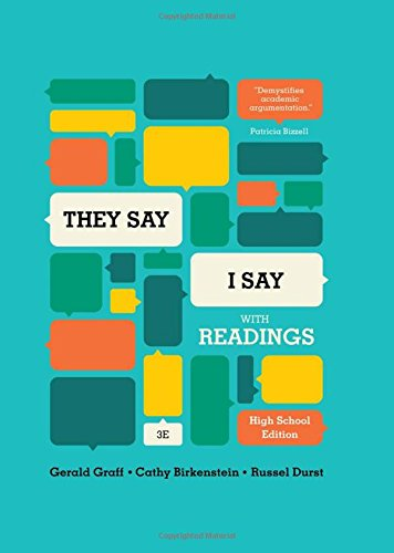9780393938432: They Say/I Say: The Moves That Matter in Academic Writing, with Readings