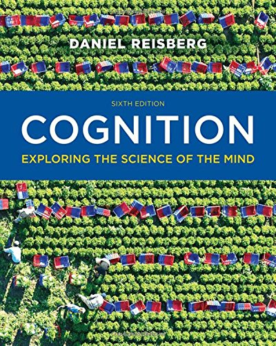 9780393938678: Cognition: Exploring the Science of the Mind