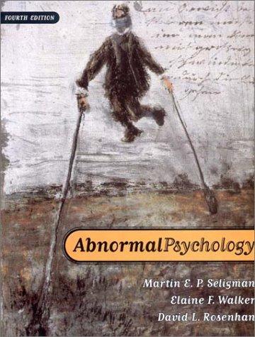 9780393944594: Abnormal Psychology (Fourth Edition)