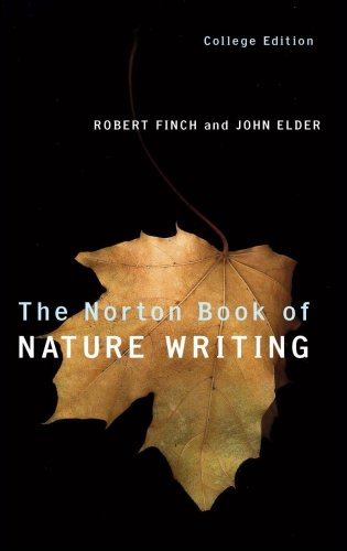 9780393946345: The Norton Book of Nature Writing (College Edition)
