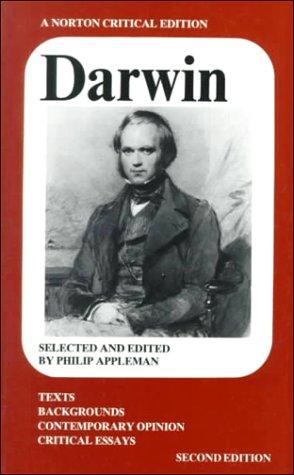 9780393950090: Darwin (Norton Critical Edition)