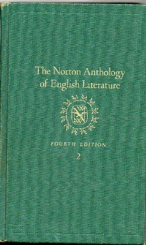 9780393950519: The Norton Anthology of English Literature, Vol. 2