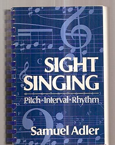 Download Sight Singing: Pitch, Interval, Rhythm