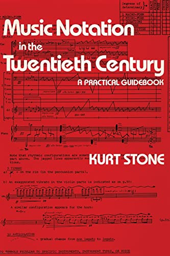 9780393950533: Music Notation in the Twentieth Century: A Practical Guidebook