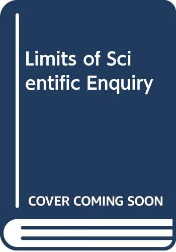 9780393950564: Limits of Scientific Inquiry