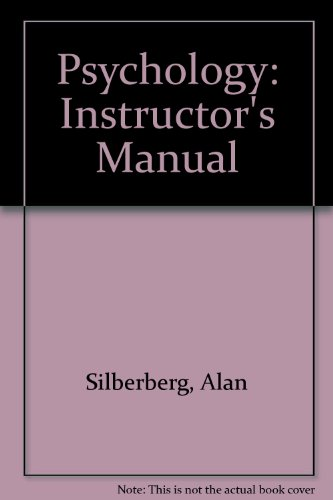9780393951059: Psychology: Instructor's Manual